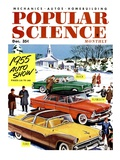 Front Cover of Popular Science Magazine: December 1  1955