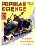 Front cover of Popular Science Magazine: December 1  1900