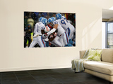 Titans Patriots Football: Foxborough  MA - Titans defense