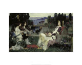 Saint Cecilia  1895