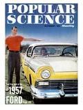 Front cover of Popular Science Magazine: October 1  1957