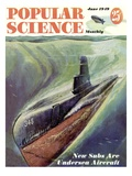 Front cover of Popular Science Magazine: June 1  1949