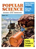 Front cover of Popular Science Magazine: August 1  1950