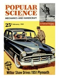 Front cover of Popular Science Magazine: February 1  1951