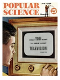Front cover of Popular Science Magazine: February 1  1949