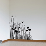 Corner of the Meadow-Medium-Black