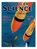 Front cover of Popular Science Magazine: October 1  1940
