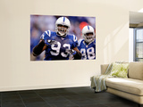 49ers Colts Football: Indianapolis  IN - Dwight Freeney and Robert Mathis