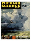 Front cover of Popular Science Magazine: June 1  1947