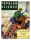 Front Cover of Popular Science Magazine: February 1  1931