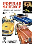 Front cover of Popular Science Magazine: September 1  1951