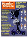 Front cover of Popular Science Magazine: April 1  1973