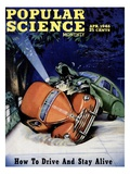 Front cover of Popular Science Magazine: April 1  1946