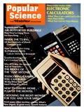 Front cover of Popular Science Magazine: March 1  1973