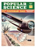 Front cover of Popular Science Magazine: May 1  1940