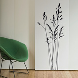 Tall Wild Grass-Medium-Black