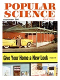 Front cover of Popular Science Magazine: September 1  1950