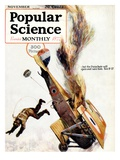 Front Cover of Popular Science Magazine: November 1  1900