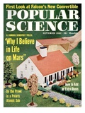Front Cover of Popular Science Magazine: September 1  1962