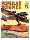 Front Cover of Popular Science Magazine: June 1  1930