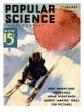 Front Cover of Popular Science Magazine: February 1  1930