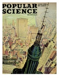 Front cover of Popular Science Magazine: June 1  1946