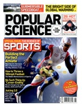 Front cover of Popular Science Magazine: August 1  2008