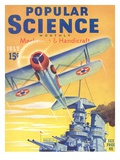 Front cover of Popular Science Magazine: July 1  1940