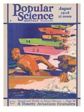 Front Cover of Popular Science Magazine: August 1  1928