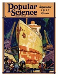 Front Cover of Popular Science Magazine: September 1  1927