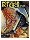 Front cover of Popular Science Magazine: January 1  1946