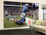 Bears Lions Football: Detroit  MI - Calvin Johnson