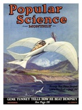 Front Cover of Popular Science Magazine: December 1  1920