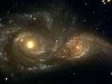 Galaxies Nearly Colliding