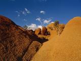 Africa  Namibia  Namib Desert  Damaraland  Spitzkoppe rock
