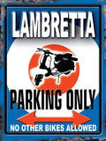Lambretta Parking Only