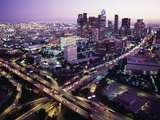 Downtown Los Angeles at Dusk