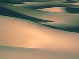 Dunes in the Death Valley  USA  Halbtotale