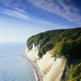 Rocky coastline in the Jasmund Nature Reserve  Ruegen  Mecklenburg-Vorpommern  Germany