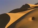 Sand dunes (Timimoun  Grand Erg  Gourara Valley  Sahara Desert  Algeria)