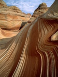 Rock formation in the Paria Canyon  Utah