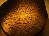 Aztec Carved Calendar Stone