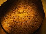 Aztec Carved Calendar Stone