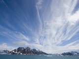 Cirrus Clouds Over Fjord in June