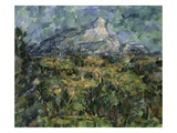 Landscape of Aix  Mont Sainte-Victoire