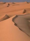 Dunes landscape in Erg Murzuk