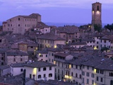 Anghiari at twilight  Vitaleta  Tuscany  Italy