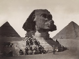 British Soldiers at the Sphinx