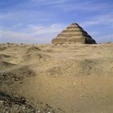 Step Pyramid  Sakkara  Egypt