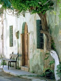 House in the village Vessa on Chios  Greece